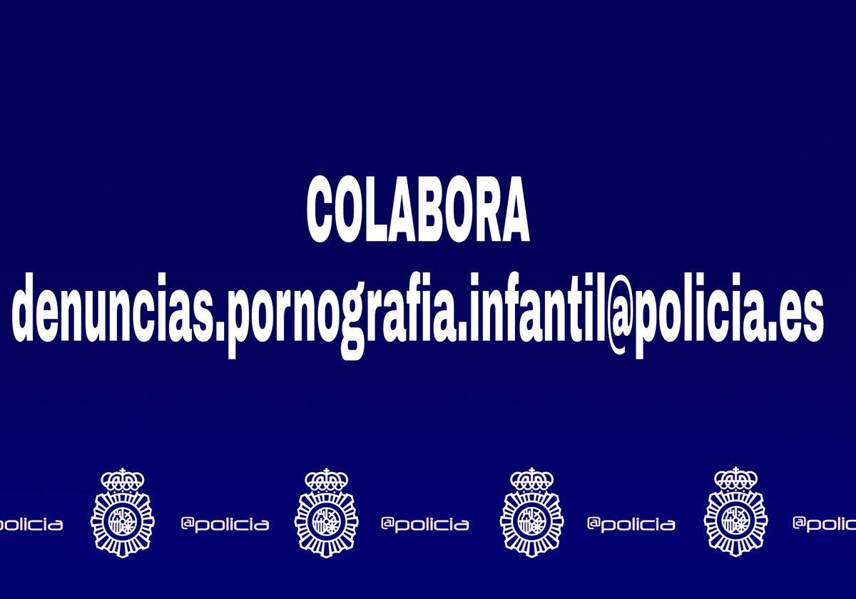 colabora Policia Nacional